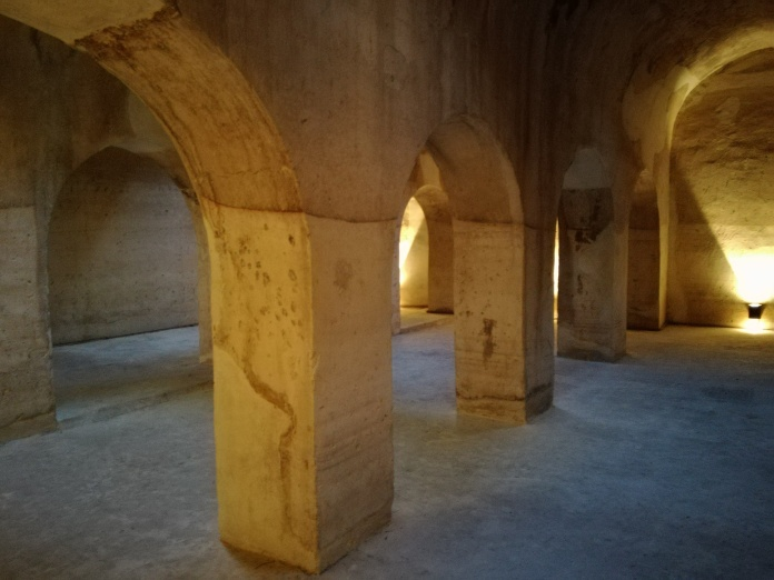 Aljibe del Rey o Viejo. Interior. Albaicín. Granada. Foto: Francisco López