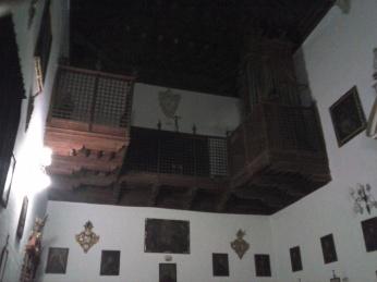 Santa Isabel la Real. Coro Alto. Albaicín. Granada. Foto: Francisco López