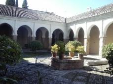 Patio de la Iglesia de El Salvador. Albaicín. Granada. Foto: Francisco López
