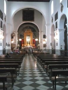Interior de San Pedro y San Pablo. Albaicín. Granada. Foto: Francisco López