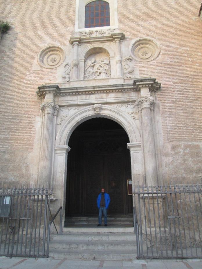 Portada de San Ildefonso. Albaicín. Granada. Foto: Francisco López