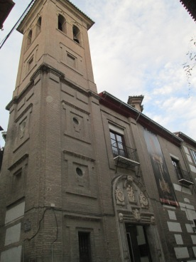 Iglesia de los Hospitalicos o del Corpus Christi. Albaicín. Foto: Francisco López