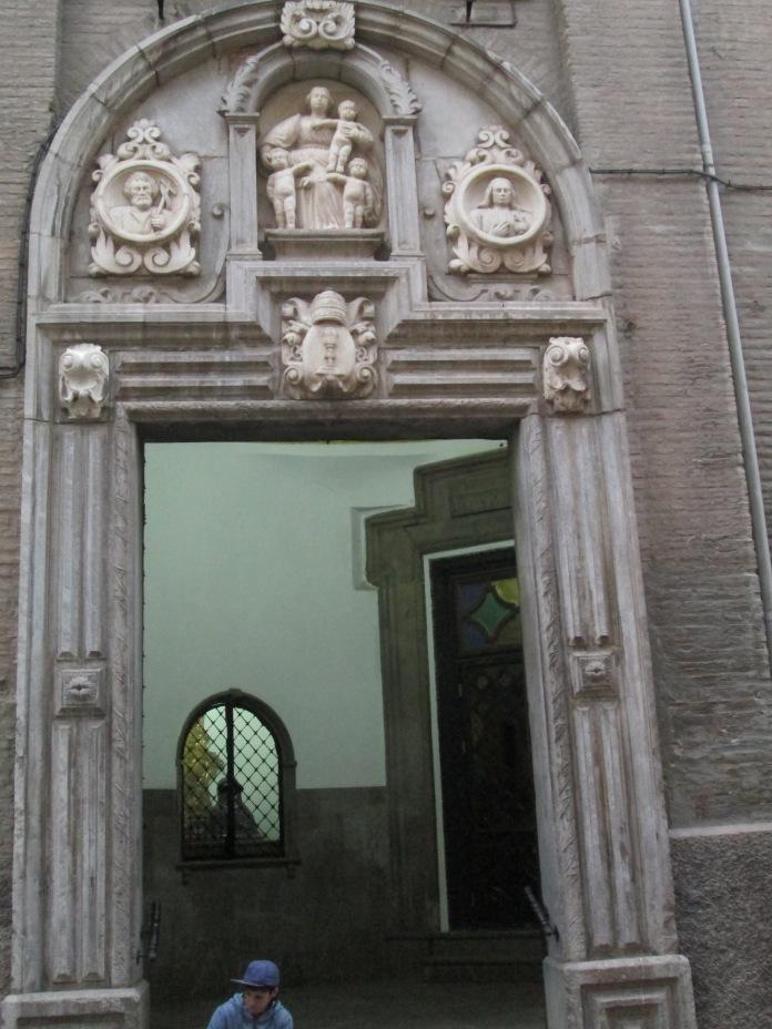 Portada. Iglesia de los Hospitalicos. Granada. Foto: Francisco López
