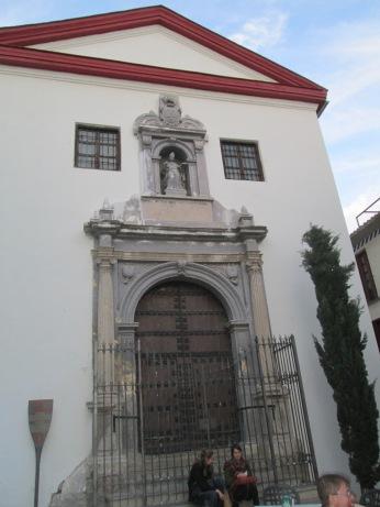 Portada de San Gregorio Bético. Albaicín. Granada. Foto: Francisco López