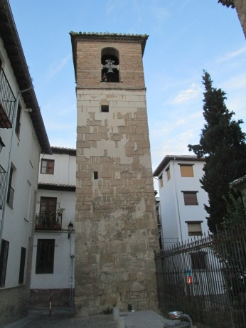 Alminar-Campanario de la Iglesia de San José. Albaicín. Granada. Foto: Francisco López