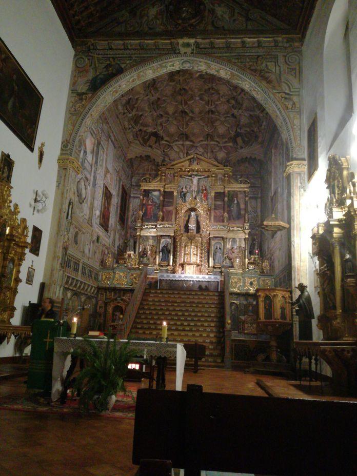 Iglesia de Santa Isabel la Real. ista general. Albaicín. Granada. Foto: Francisco López