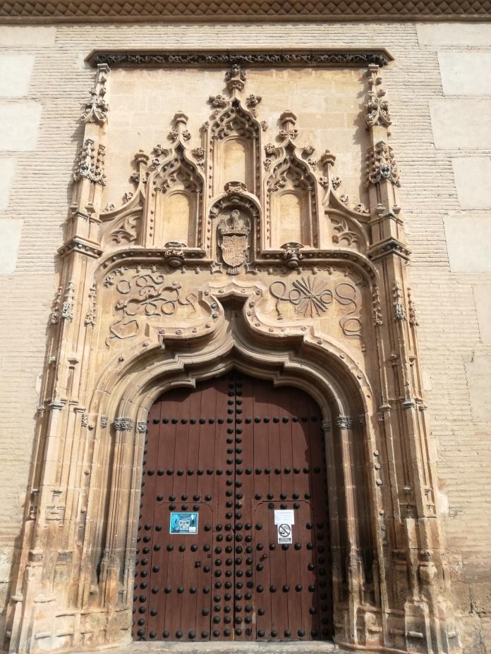 Convento de Santa Isabel la Real. Portada de la Iglesia.Granada. Foto: Francisco López