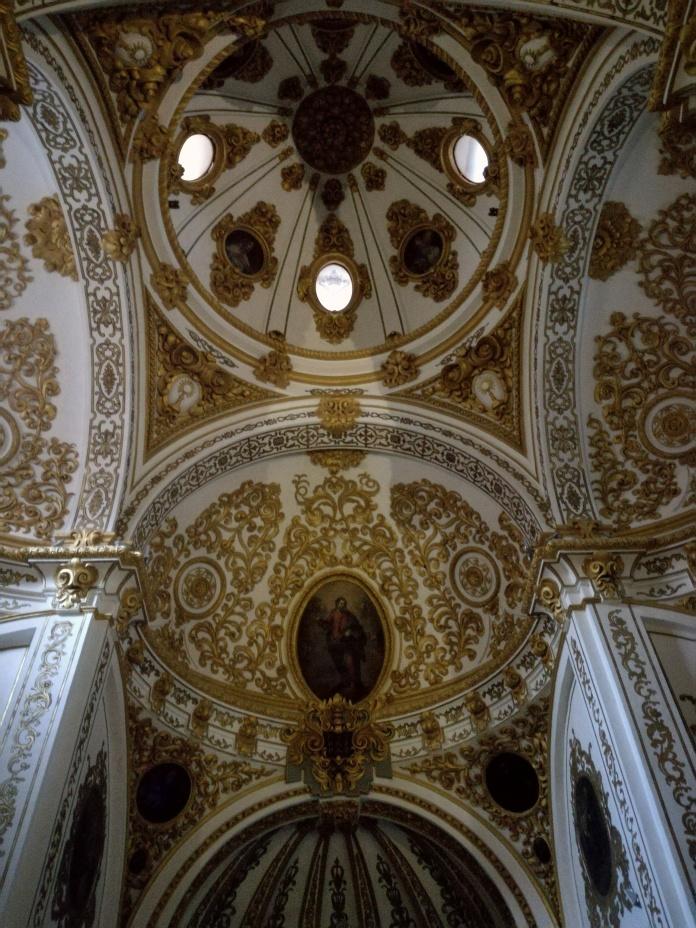 Interior de los Hspitalicos. Cúpula. Granada. Foto: Francisco López