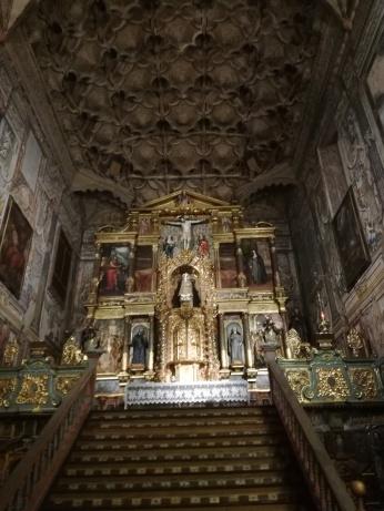 Santa Isabel la Real. Capilla Mayor. Albaicín. Granada. Foto: Francisco López