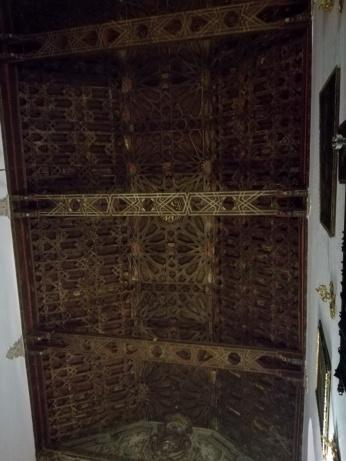 Santa isabel la Real. Cubierta mudéjar de Par y Nudillo. Albaicín. Granada. Foto: Francisco López