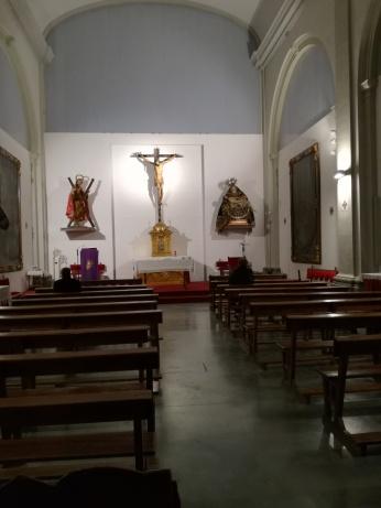 Iglesia de San Andrés. Interior neoclásico. Granada. Foto: Francisco López