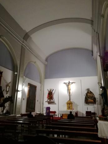 Iglesia de San Andrés. Interior. Granada. Foto: Francisco López