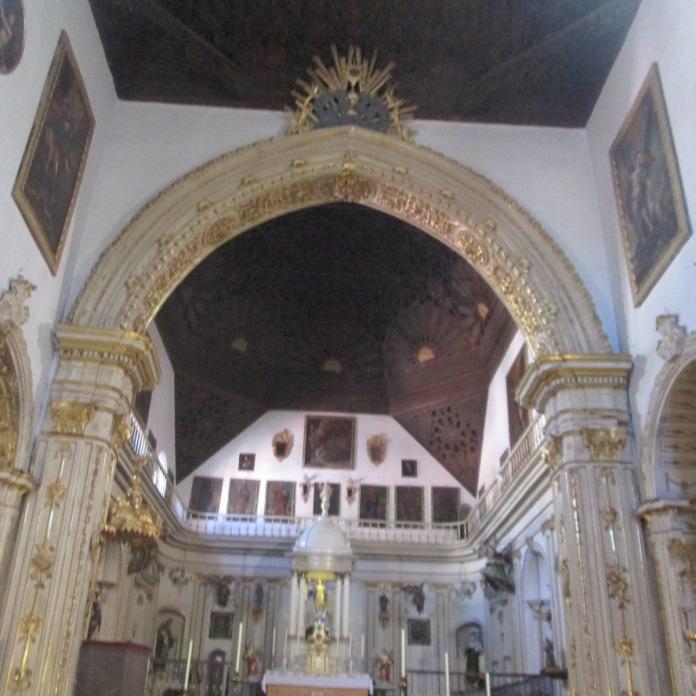 Interior. Iglesia de San Gil y Santa Ana. Plaza Nueva. Granada. Foto: Francisco López