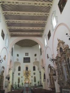 Interior de la Iglesia de El Salvador. Albaicín. Granada. Foto: Francisco López