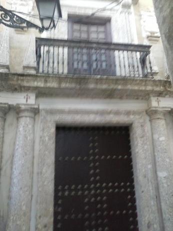 Palacio de Ágreda. Albaicín. Granada. Foto: Francisco López
