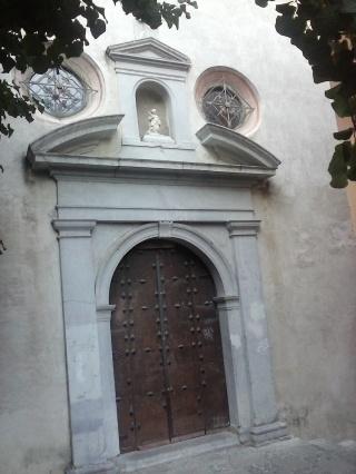 Portada capilla convento de Santa Inés. Foto: Francisco López