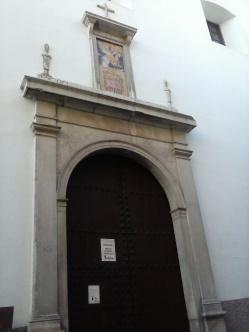 Portada de la Iglesia del convento de San Bernardo. Albaicín. Foto: Francisco López