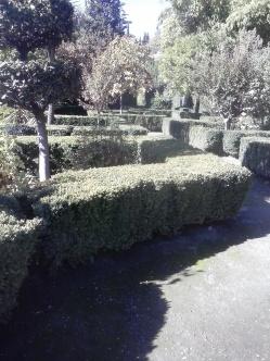 Jardines de las Casas del Chapiz. Albaicín. Foto: Francisco López