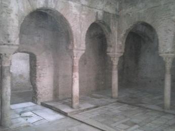 Interior de El Bañuelo. Albaicín. Granada. Foto: Francisco López