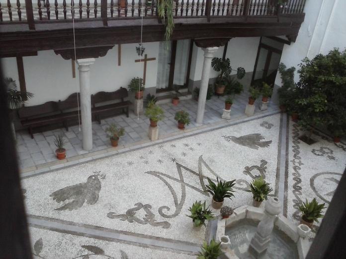 Patio. Monasterio de la Concepción. Albaicín. Foto: Francisco López