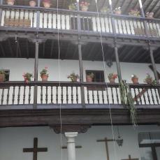 Galería del patio. Monasterio de la Concepción. Albaicín. Foto: Francisco López
