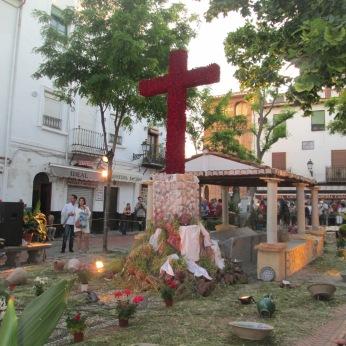 Cruz de Mayo en la Plaza larga. Albaicín. Foto: Francisco López