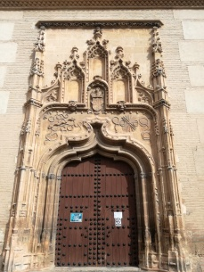 Monasterio de Santa Isabel la Real. Portada de la Iglesia. Albaicín. Foto: Francisco López