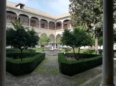 Claustro. Monasterio de Santa Isabel la Real. Albaicín. Foto: Francisco López