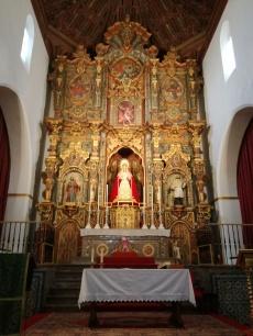Interior de la Iglesia deNª Sra. la Aurora y San Miguel Bajo. Albaicín. Foto: Francisco López