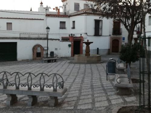 Plazas del Albaicín.