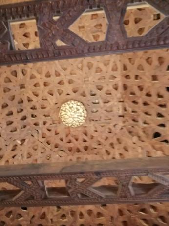 Convento del Carmen. Granada. Cubierta de madera. Foto: Fancisco López