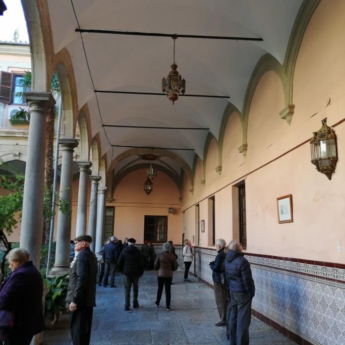 Convento de la Merced. Bóvedas del claustro. Granada. Foto: Francisco López