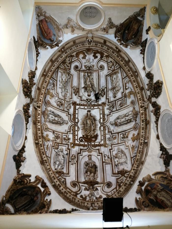 Convento de la Merced. Escalera principal. Cúpula