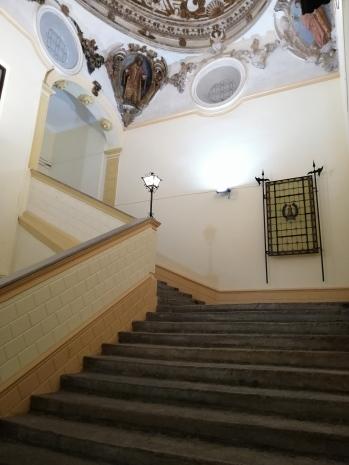 Convento de la Merced. Escalera principal