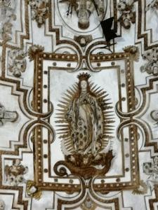 Convento de la Merced. Cúpula. Inmaculada