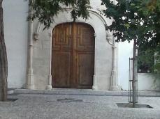 Portada gótica. Monasterio de la Concepción. Albaicín. Foto: Francisco López