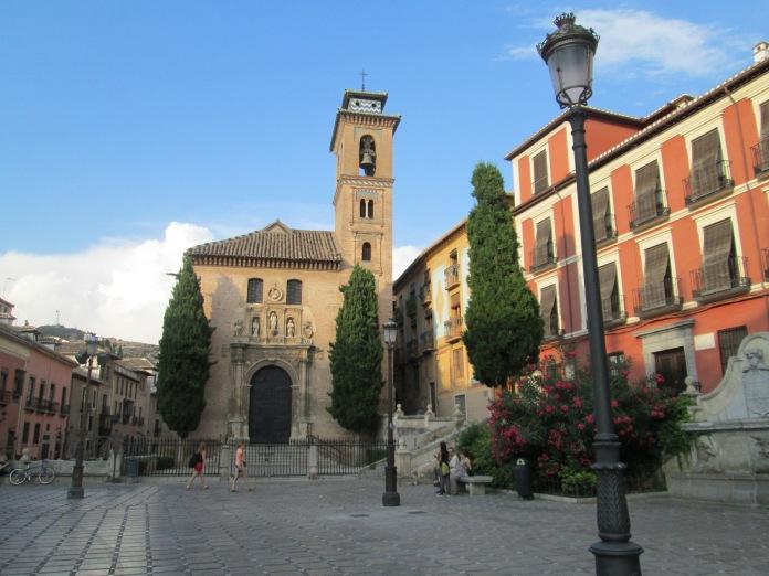 Iglesia de San Gil y Santa Ana. Granada. Foto: Francisco López