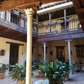 Patio morisco. Convento - Hotel de Santa Paula. Granada. Foto: Francisco López