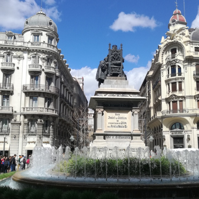 Monumento a Isabel la Católica. Granada. Foto: Francisco López