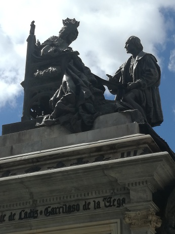 Monumento a Isabel la Católica. Plaza Isabel la Católica. Granada. Foto: Francisco López