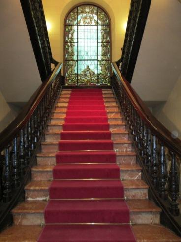 Palacio Müller. Escalera principal. Granada. Foto: Francisco López
