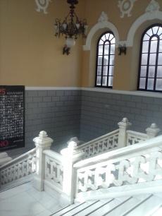 Escaleras. Instituto Padre Suárez. Granada. Foto: Francisco López