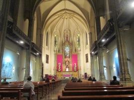 """Interior de la Iglesia del Sagrado Corazón """"Jesuitas"""". Gran Vía. Granada. Foto: Francisco López"""