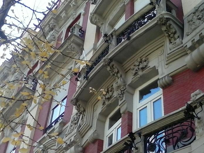 Decoración modernista. Gran Vía. Granada.Foto: Francisco López