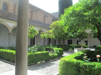 Cartuja. Claustrillo. Granada. Foto: Francisco López