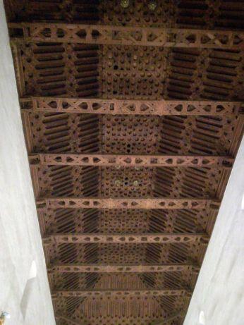 Cubierta mudéjar de San Ildefonso. Granada. Foto: Francisco López