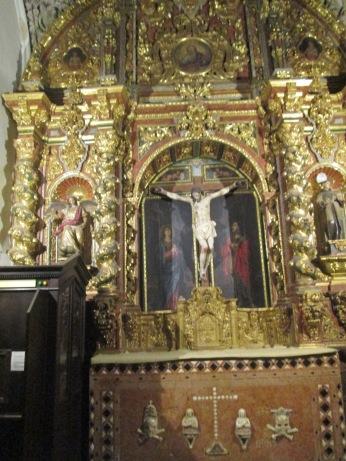 San Ildefonso. Capilla barroca. Granada. Foto: Francisco López