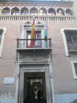 Palacio de Caicedo. Portada. Granada. Foto: Francisco López