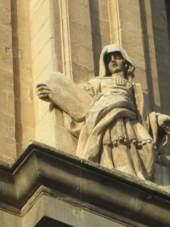 Figura del Antiguo Testamento. Catedral de Granada. Foto: Francisco López