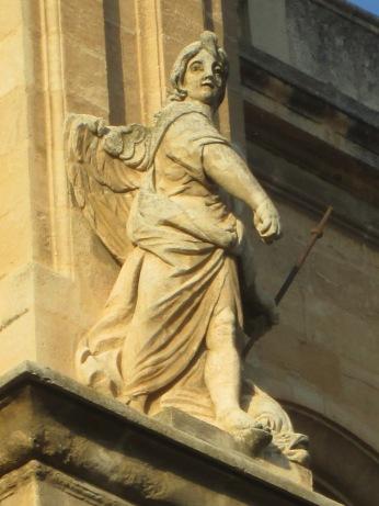 Figura del Nuevo Testamento. Catedral de Granada. Foto: Francisco López